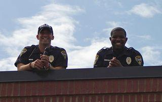 Josh on roof