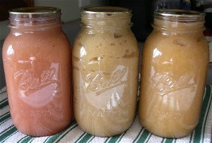 Home-canned-applesauce