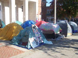 Tent city 001